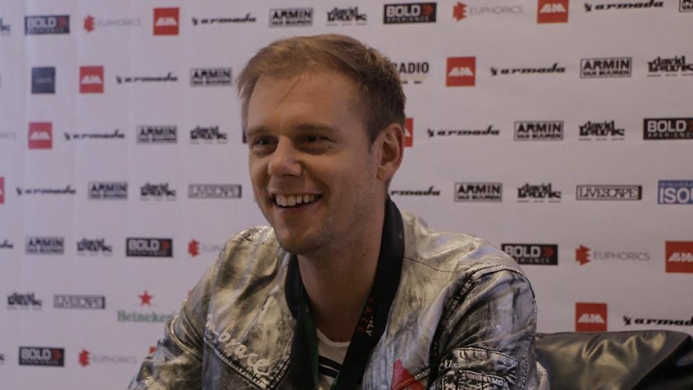 Exclusive with Armin Van Buuren