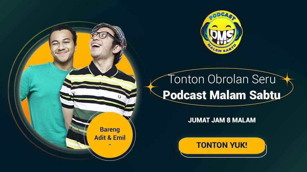 Podcast Malam Sabtu (PMS) Episode 6