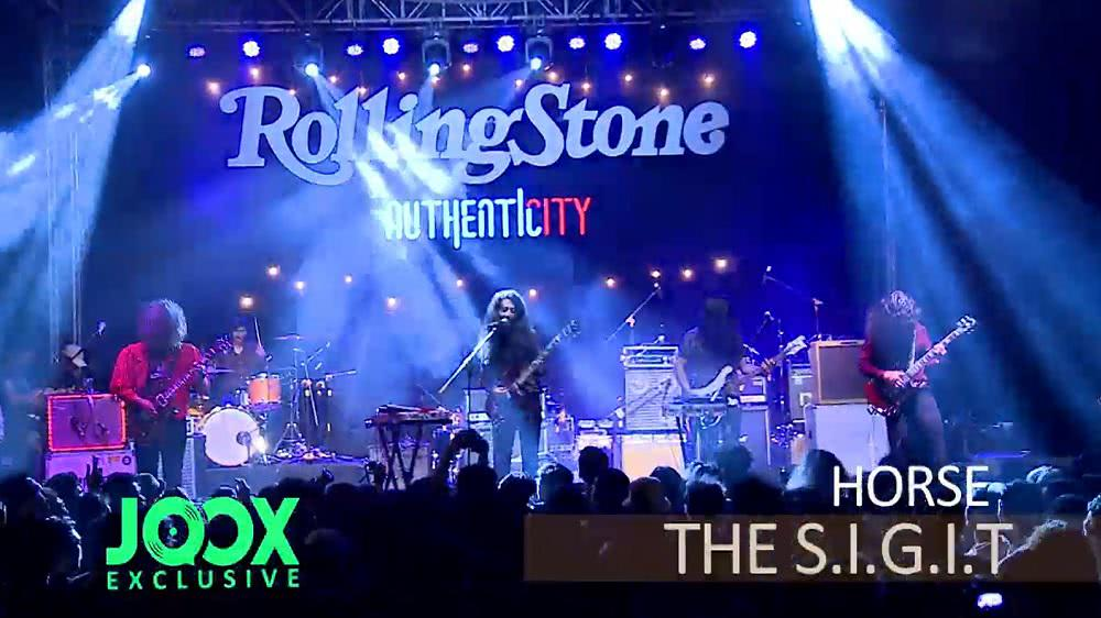 Exclusive Special Rolling Stone with The Sigit