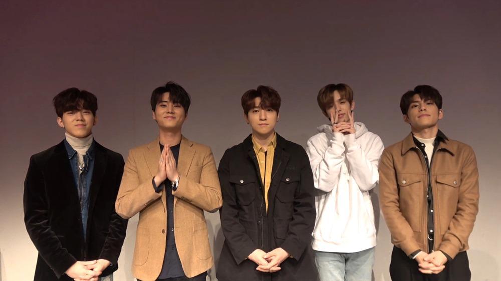 Day6 Promote Album 'Moonrise' on JOOX