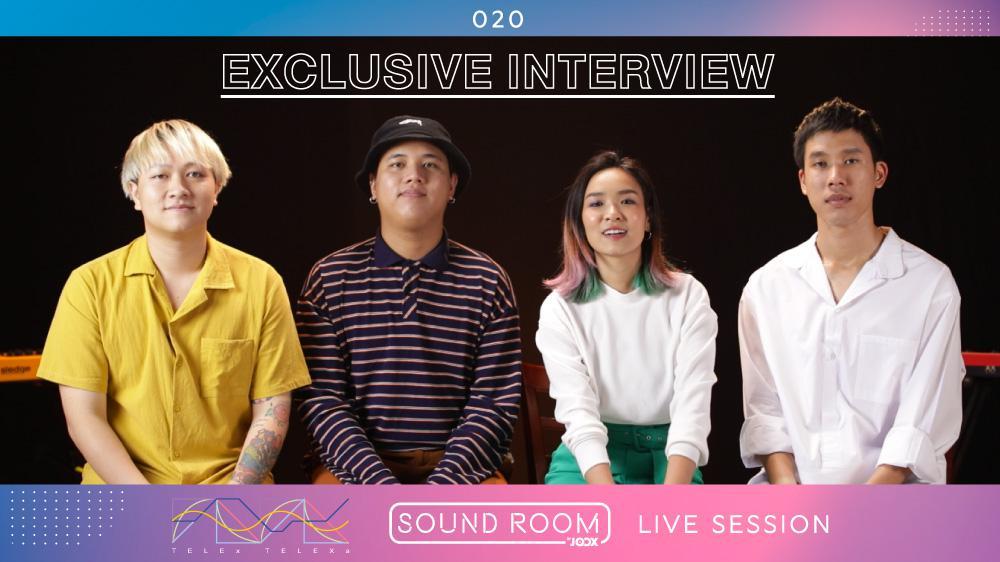บทสัมภาษณ์พิเศษกับ TELEx TELEXs | JOOX Sound Room