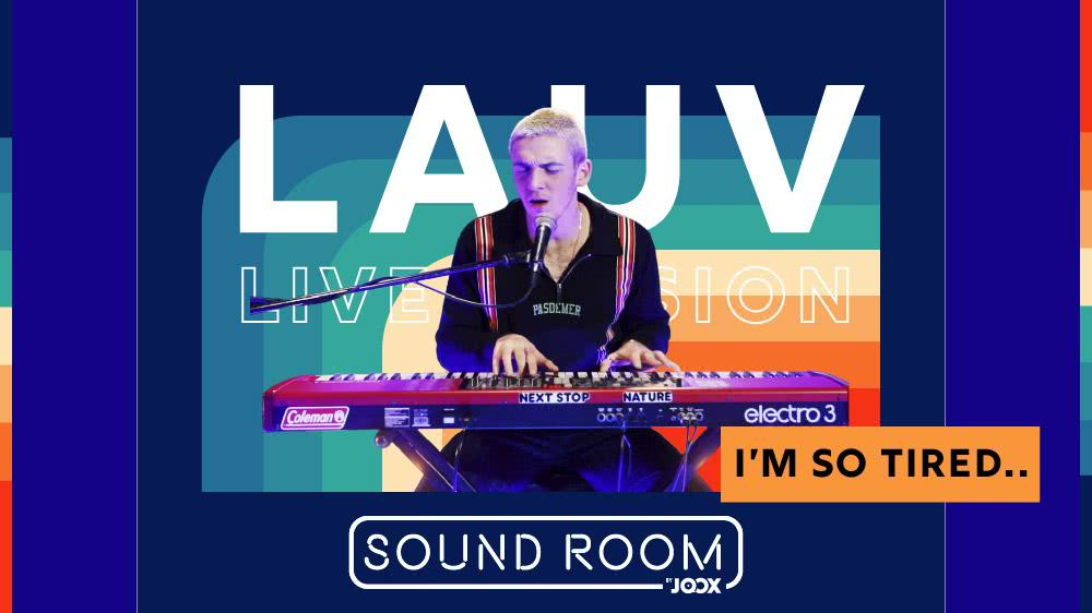 i'm so tired… - Lauv [Live Session]   Sound Room