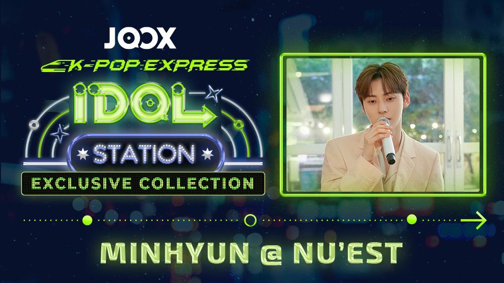 K-POP EXPRESS: IDOL STATION -- MINHYUN@NU'EST Live Session(English Subtitle Version)