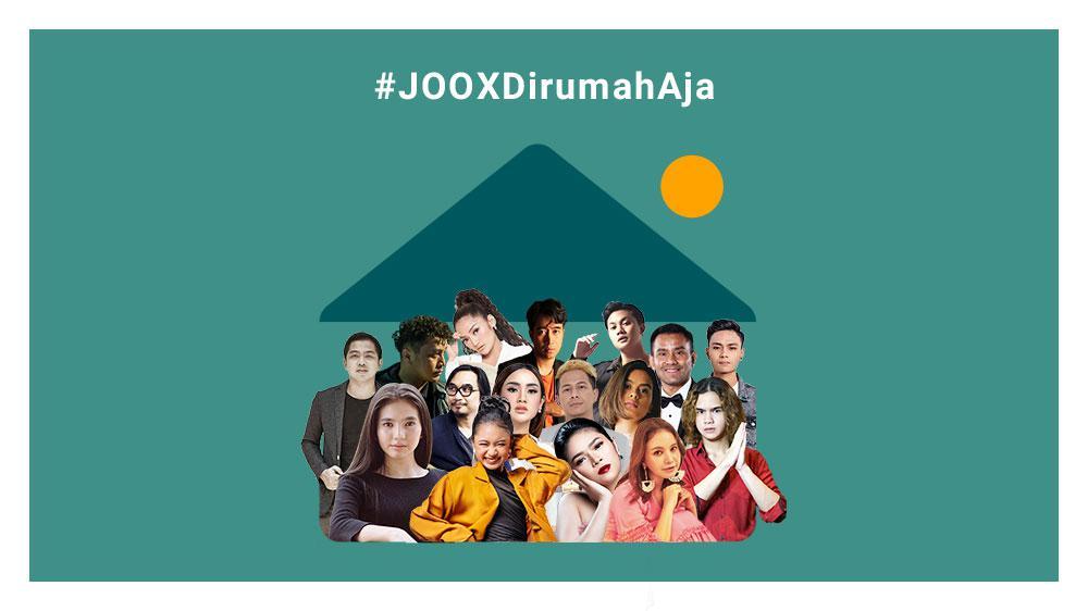 #JOOXDiRumahAja Live Chat Part 1