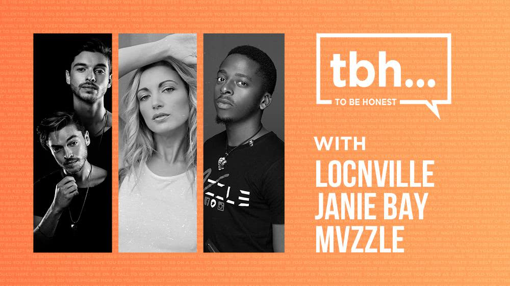 To Be Honest - Locnville, Janie Bay and Mvzzle