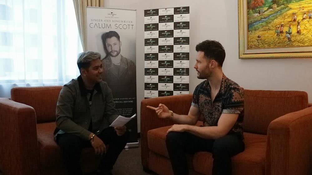 Exclusive with Calum Scott