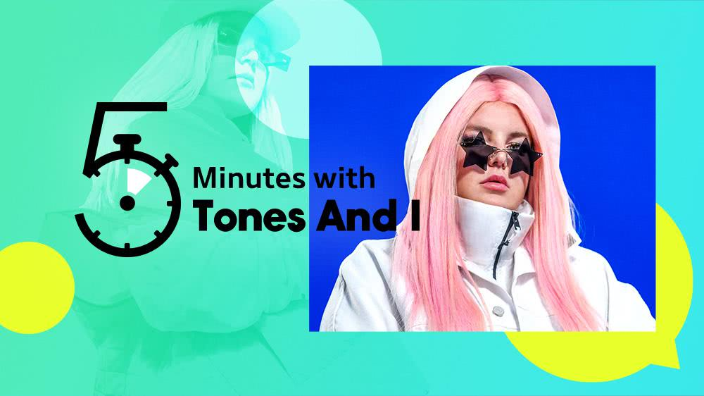 5 Minutes with Tones And I