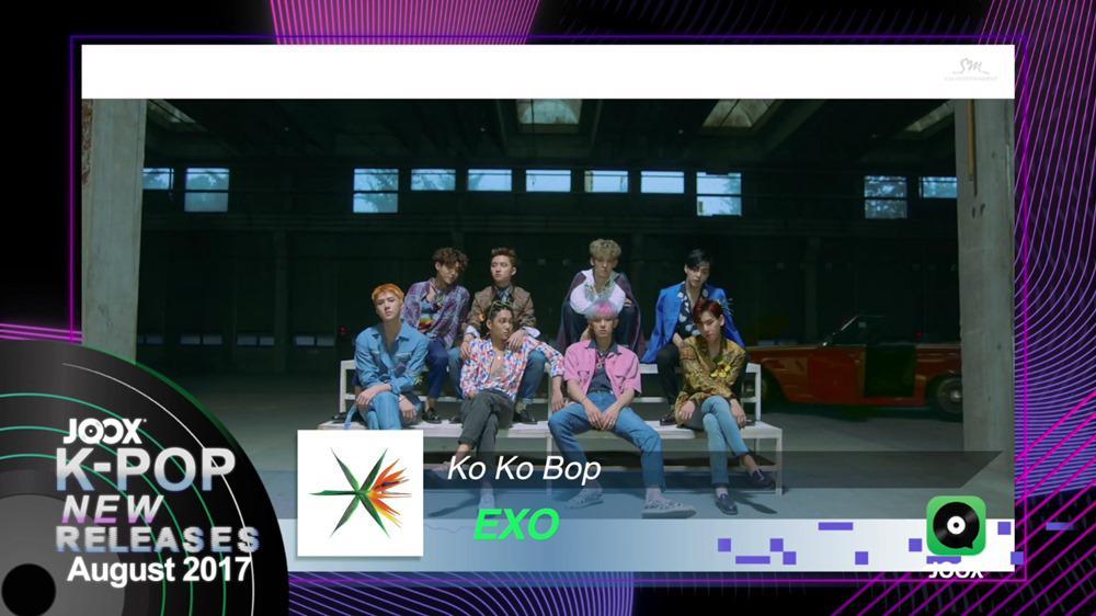 JOOX K-POP NEW Releases - August 2017