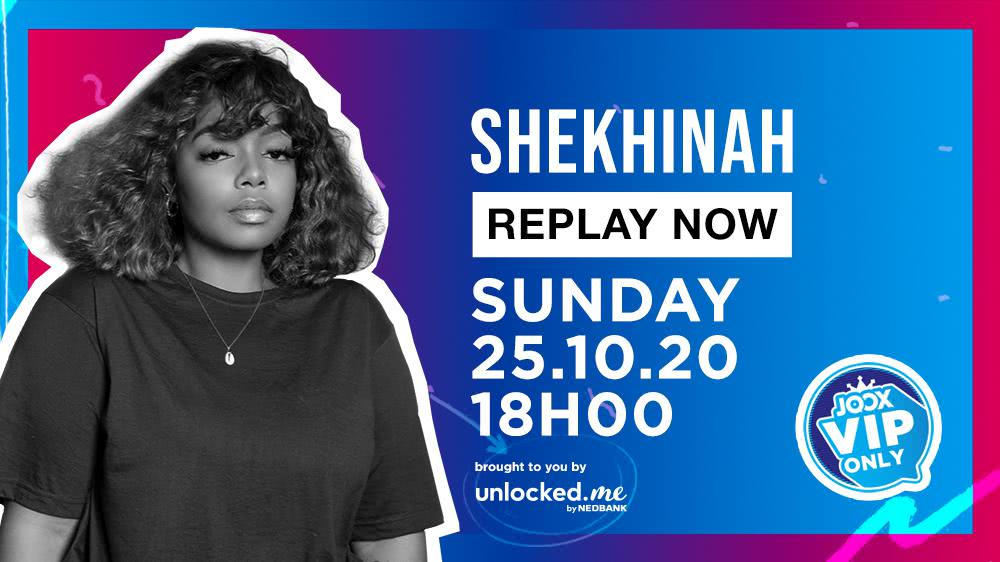 Shekhinah Big Live Replay