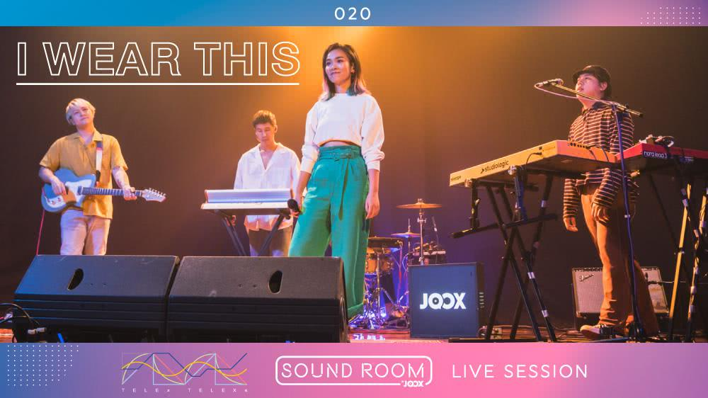 'I Wear This' - TELEx TELEXs [Live Session] | JOOX Sound Room