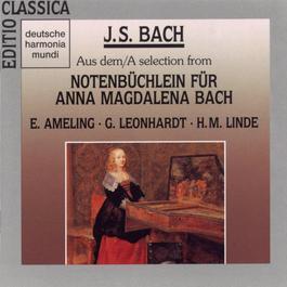 """Bach:Werke aus dem """"Notenbüchlein für Anna M. Bach 1990 Gustav Leonhardt"""