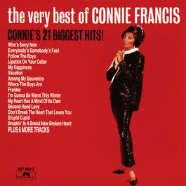 The Very Best Of Connie Francis - Connie's 21 Biggest Hits 1963 Connie Francis