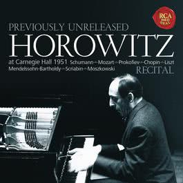 Horowitz - Recital at Carnegie Hall 1951 2016 Vladimir Horowitz