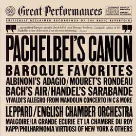 Great Baroque Favorites 1983 English Chamber Orchestra; Jean-Claude Malgoire; Philharmonia Virtuosi of New York; Raymond Leppard