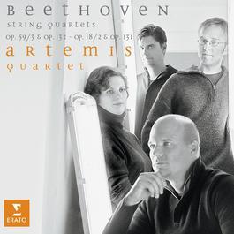Beethoven : String Quartets Op.131 Op.18-2 Op.132 Op.59-3 2010 阿特密絲絃樂四重奏團