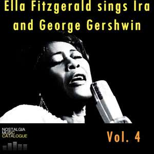 Ella Fitzgerald的專輯Ella Fitzgerald Sings IRA and George Gershwin Vol.4