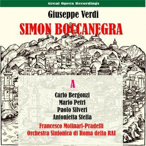 Antonietta Stella的專輯Verdi: Simon Boccanegra, Vol. 1 [1951]
