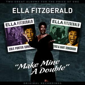 """Ella Fitzgerald的專輯""""Make Mine A Double"""" (Vol' 2) - Two Great Albums For The Price Of One"""