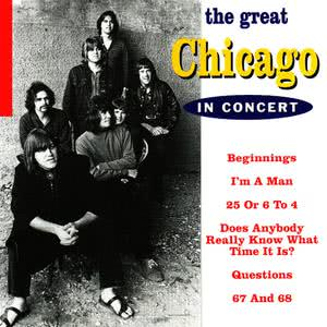 Chicago的專輯The Great Chicago in Concert