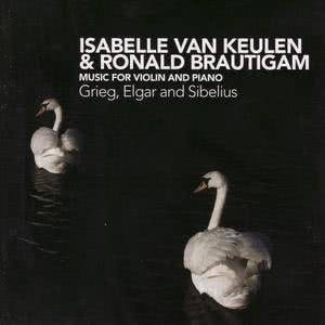 Isabelle van Keulen的專輯Grieg, Elgar and Sibelius: Music for Violin and Piano