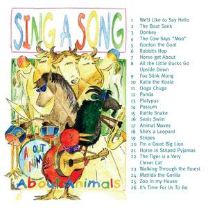 Tessarose的專輯Sing a Song About Animals