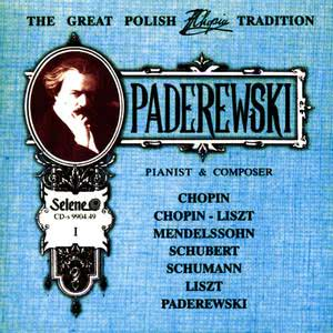 Ignacy Jan Paderewski的專輯The Great Polish Chopin Tradition: Ignacy Jan Paderewski