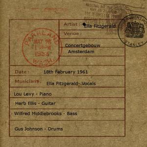 Ella Fitzgerald的專輯Live at Concertgebouw, Amsterdam '61