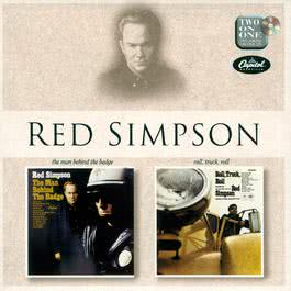 The Man Behind The Badge/Rock Truck Roll 1966 Red Simpson