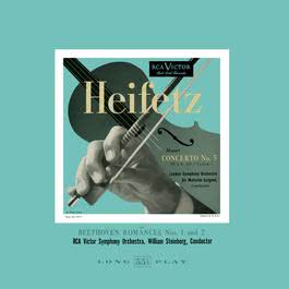 """Mozart: Violin Concerto No. 5, K. 219, in A """"Turkish"""", Romance 1 & 2 2011 Jascha Heifetz"""