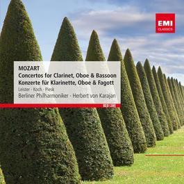 Mozart: Concertos for Clarinet, Oboe & Bassoon - Konzerte für Klarinette, Oboe & Fagott 2012 Herbert Von Karajan; Karl Leister