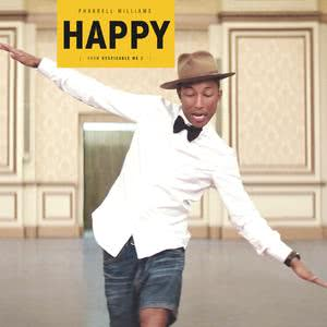 """Happy (From """"Despicable Me 2"""") 2013 Pharrell Williams"""