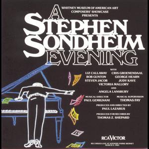 A Stephen Sondheim Evening (Concert Cast Recording) 1994 Various Artists
