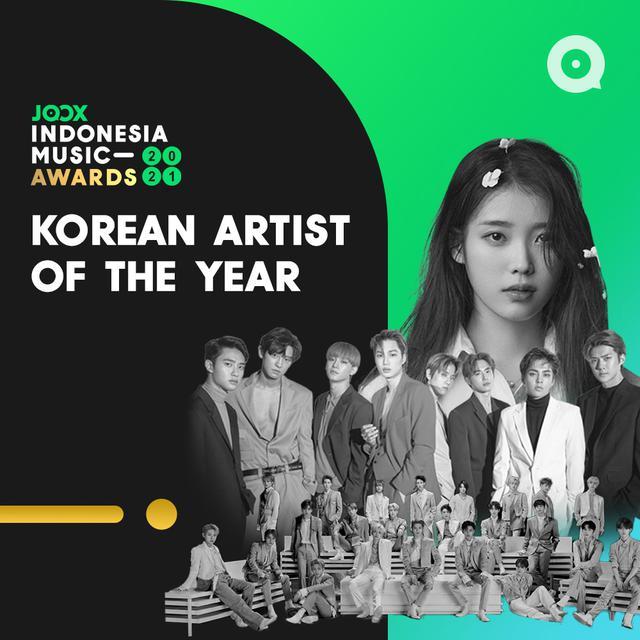 Korean Artist of The Year JIMA 2021