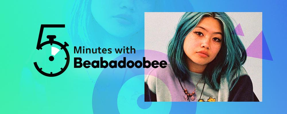 5 Minutes with Beabadoobee
