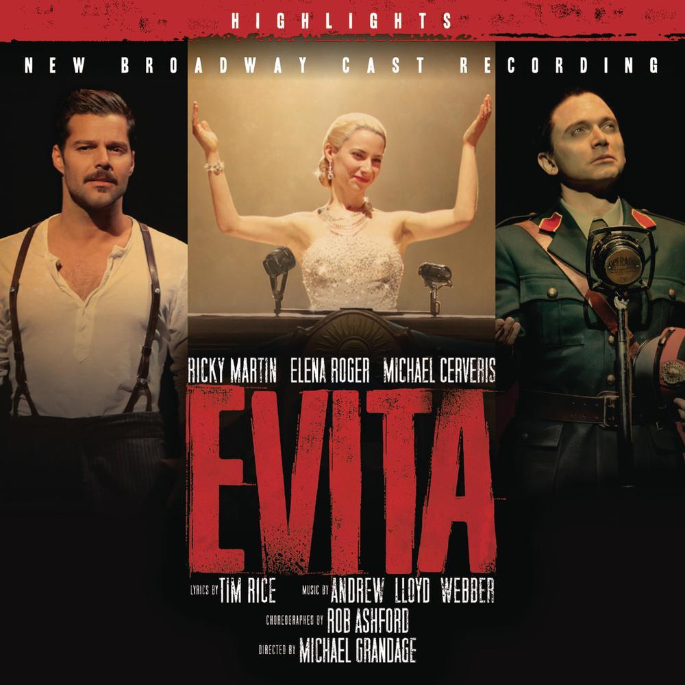 Buenos Aires (highlights version) 2012 Elena Roger; Ricky Martin; New Broadway Cast of Evita (2012)