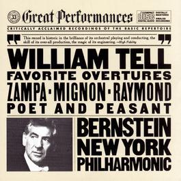 Favorite Overtures 1983 Leonard Bernstein