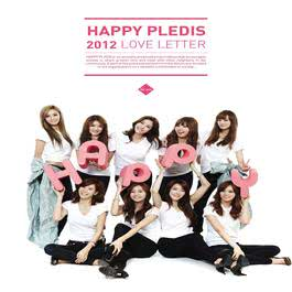 HAPPY PLEDIS 2012 'LOVE LETTER' 2011 孙丹菲; After School