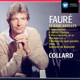 faure oeuvres pour piano 2003 Jean Philippe Collard