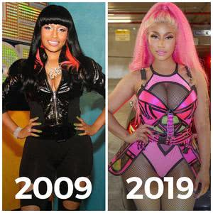 Nicki Minaj #10yearchallenge