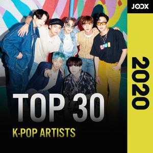 JOOX 2020: Top 30 K-POP Artist