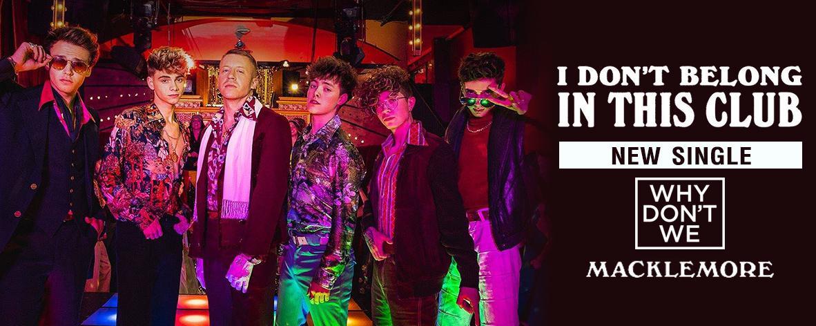 อัลบั้มเพลง Single : I Don't Belong In This Club - Why Don't We (S!)