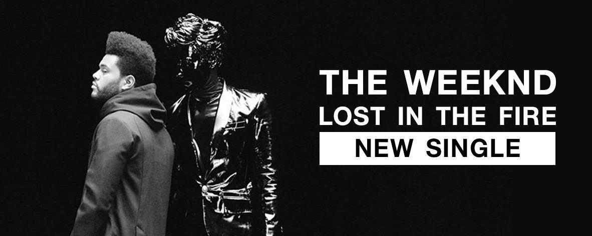 อัลบั้มเพลง Single : Lost in the Fire - The Weeknd (S!)