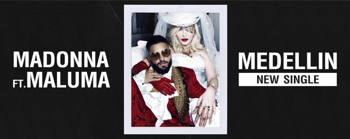 เพลย์ลิสต์ Single : Medellín - Madonna