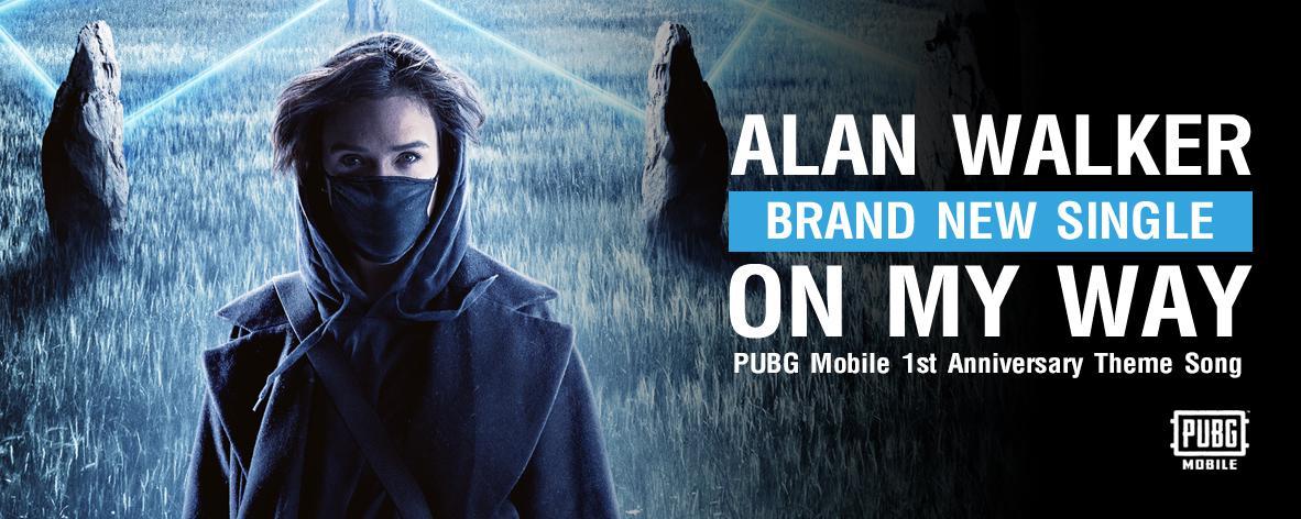 อัลบั้มเพลง Single : On My Way - Alan Walker (S!)