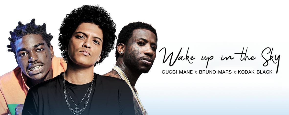 อัลบั้มเพลง Single : Wake Up in the Sky - Bruno Mars (S!)