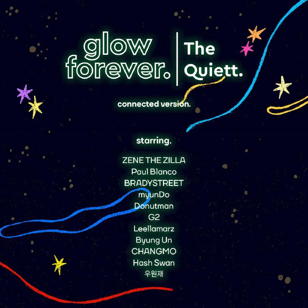 ฟังเพลงอัลบั้ม glow forever (Connected Version)