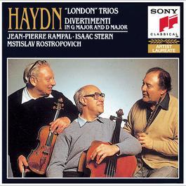 Haydn: London Trios 1987 Jean-Pierre Rampal, Isaac Stern, Mstislav Rostropovich