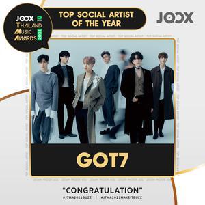 ลิสต์เพลงใหม่ รางวัล Top Social Artist of the Year 2021 [Winner]