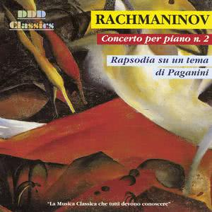 Album Rachmaninoff: Piano Concerto No. 2 & Rhapsody on a Theme of Paganini from Tbilisi Symphony Orchestra
