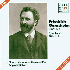 Album Gernsheim: Symphonies No. 1-4 from Staatsphilharmonie Rheinland-Pfalz